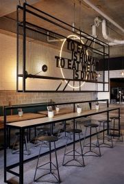 Lovely Low Budget Small Restaurant Design Ideas 16