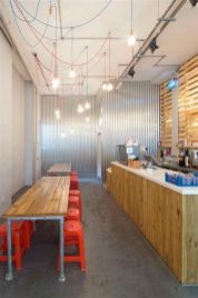 Lovely Low Budget Small Restaurant Design Ideas 19