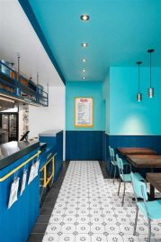 Lovely Low Budget Small Restaurant Design Ideas 20