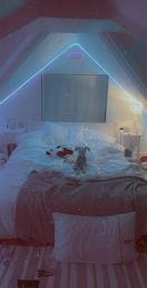 Most Popular Aesthetic Room With Led Lights Ideas 20