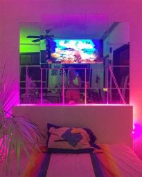 Most Popular Aesthetic Room With Led Lights Ideas 28