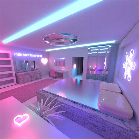 Most Popular Aesthetic Room With Led Lights Ideas 39