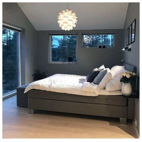 Awesome Grey And White Bedroom Ideas 06