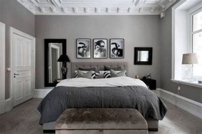 Awesome Grey And White Bedroom Ideas 15