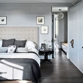 Awesome Grey And White Bedroom Ideas 25