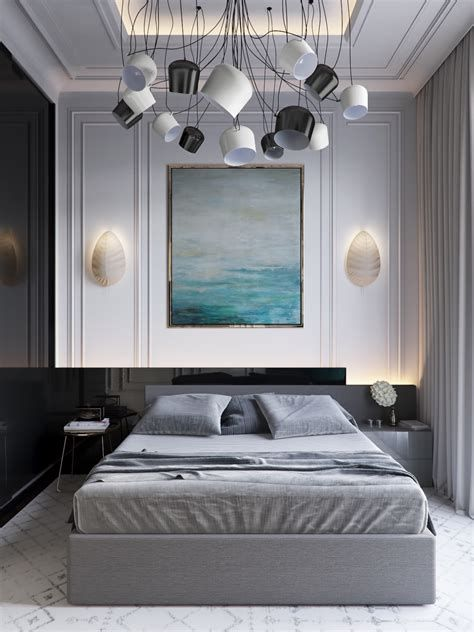 Awesome Grey And White Bedroom Ideas 30