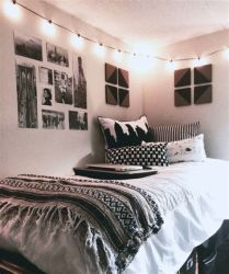 Totally Cute Black And White Room Aesthetic Ideas 01