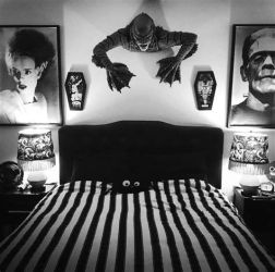 Totally Cute Black And White Room Aesthetic Ideas 05