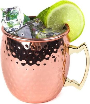 Rose Gold Moscow Mule cups