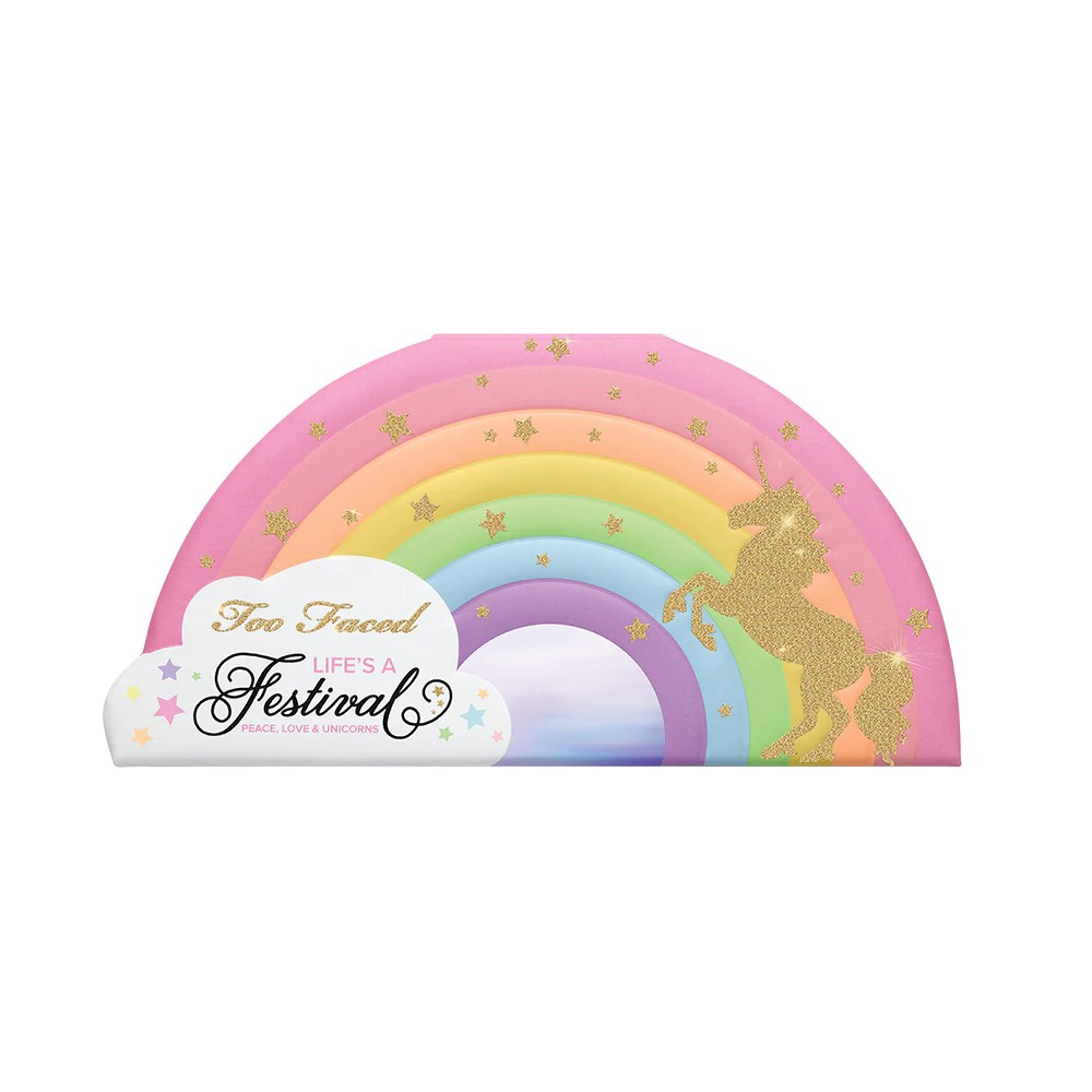 TOO FACED - Life's A Festival Unicorn Eye Shadow Palette