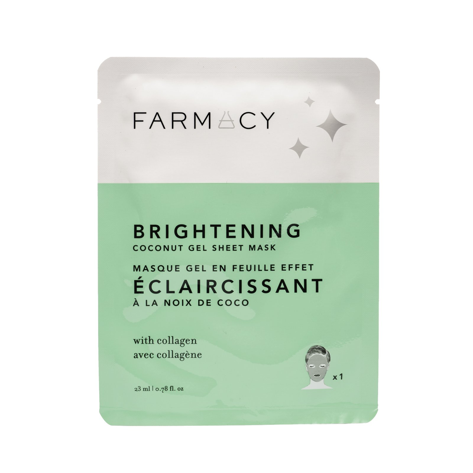 FARMACY BRIGHTENING COCONUT GEL SHEET MASK