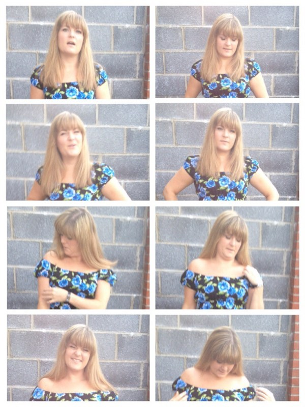 The many gimpy faces of a Leigh