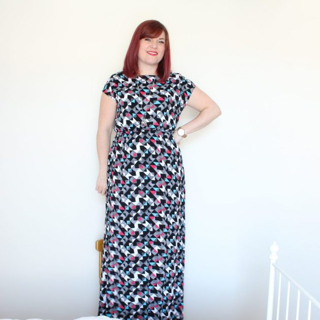New Look 6217 lovechild with True Bias Southport dress