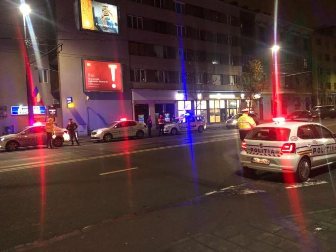 (Foto) Poliția Cluj: Razie de amploare, pe tip de noapte 1