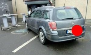 """Luka: """"Cluj, Kaufland Mărăşti. Momentul ăla, când parcarea mişună de locuri libere, dar tu reuşeşti să blochezi 2 locuri destinate celor cu dizabilităţi. Desigur..."""" 8"""