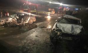 (Foto) Accident grav. Șofer de BMW mort, 4 persoane rănite între Cluj și Zalău 4