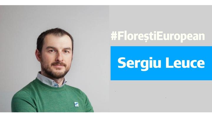 """Cluj. Câștigă? El este candidatul USR Florești la Primărie. Claudiu: """"La USR Florești avem cu cine. Felicitări, Sergiu Leuce !"""" 1"""