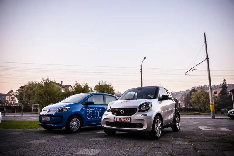Primul serviciu de car sharing din Romania a fost lansat la Cluj-Napoca