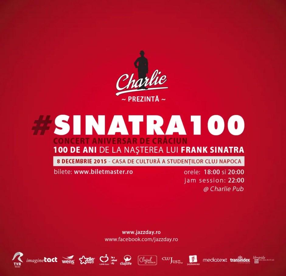 Frank Sinatra, omagiat la Cluj prin doua concerte aniversare de jazz