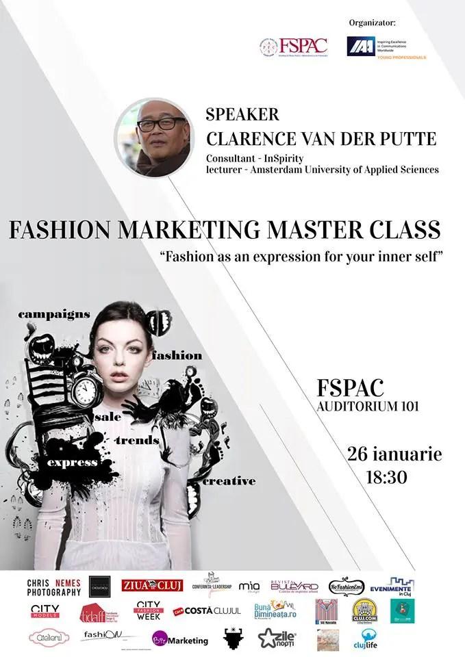 Masterclass de Fashion Marketing Cluj IAA Young Professionals
