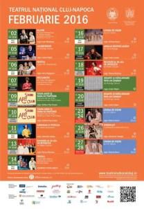 program Teatrul National Cluj-Napoca