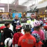"""Copiii din Cluj au participat la concursul ,,Micul biciclist şi siguranţa lui"""""""