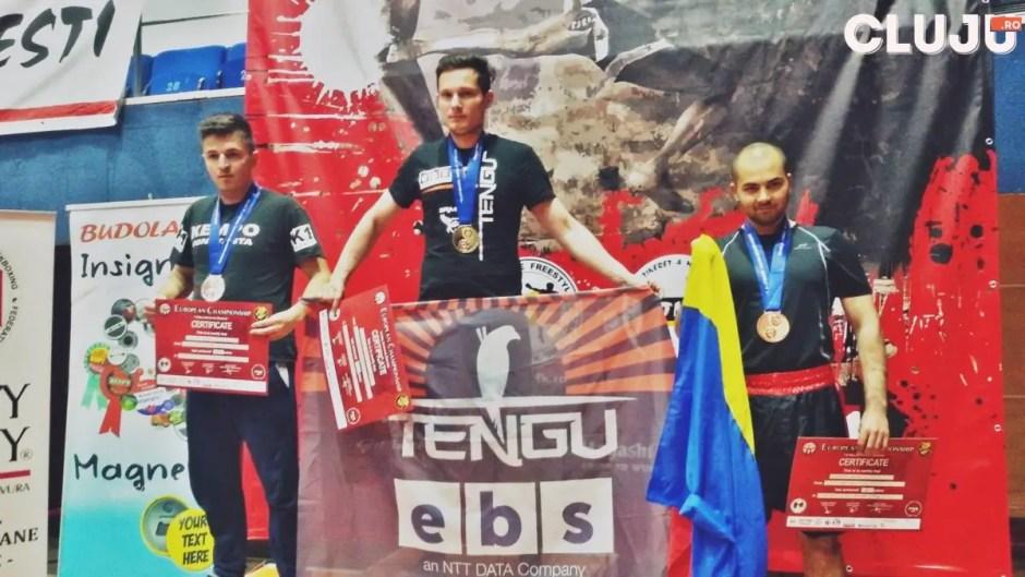 Stan Dorin campion european k1