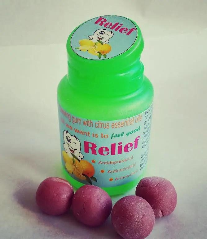 gumă antistres