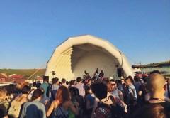 Concert de jazz în groapa de gunoi Pata Rât