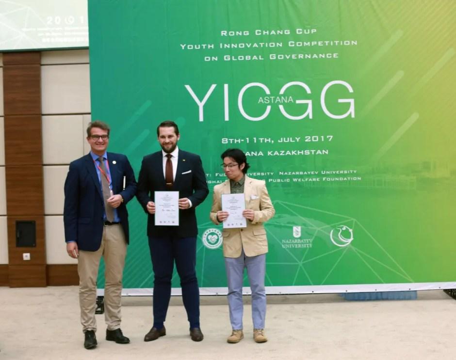 "Studenți UBB Cluj - câştigători la Competiția Internațională ""Youth Innovation Competition on Global Governance"""