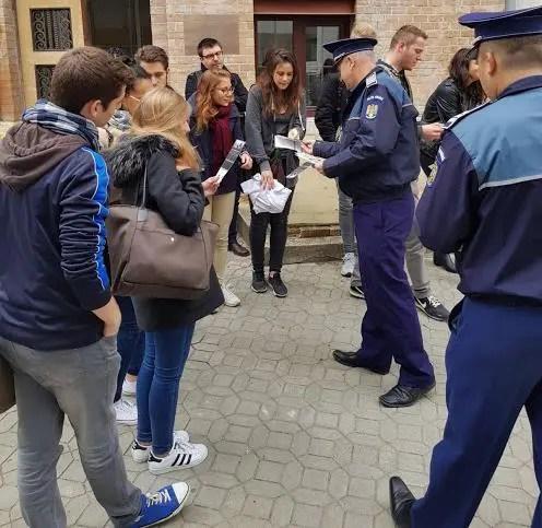 Sfaturile poliţiştilor pentru studenţii veniţi la Cluj