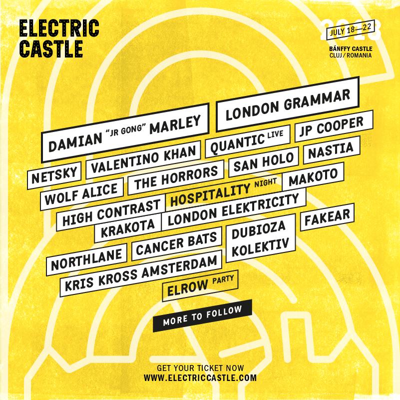 artisti electric castle 2018
