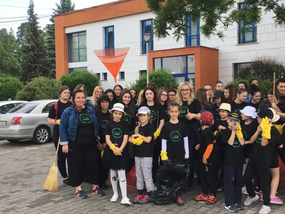 ecologizare ubb cluj parcul sportiv universitar iuliu hatieganu