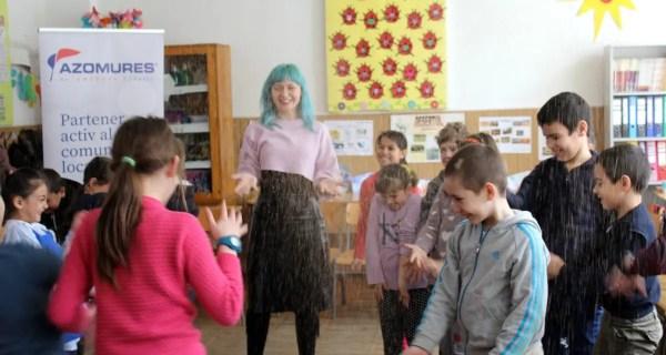 Ateliere NARATIV pentru elevii din comuna Mărișel