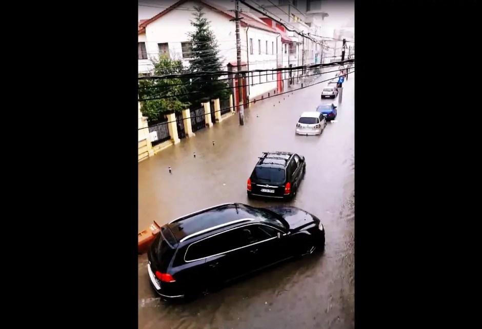 inundatie cluj 21 iunie