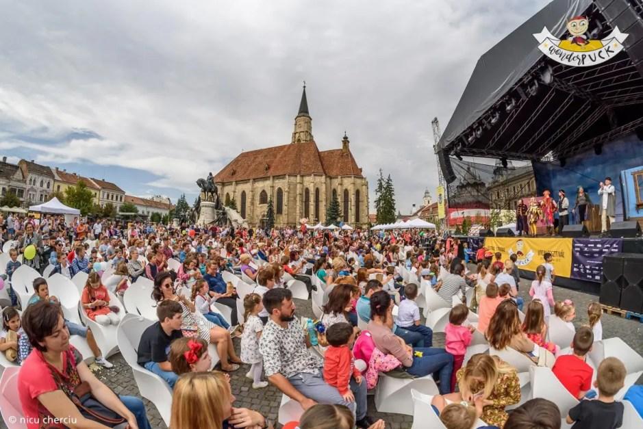 Festivalul Internațional Stradal WonderPuck revine cu o nouă ediţie
