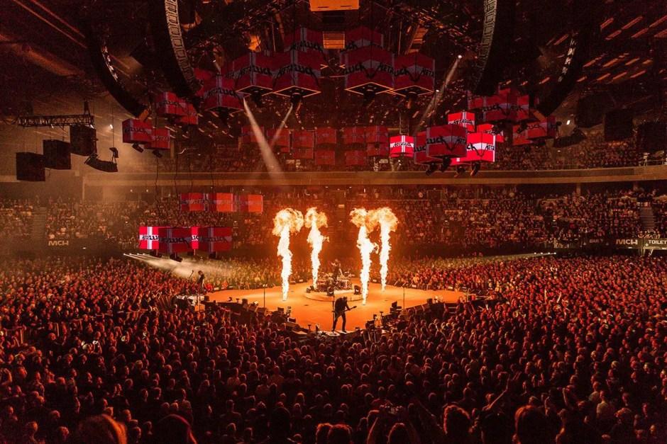 Legendara trupă Metallica revine în România