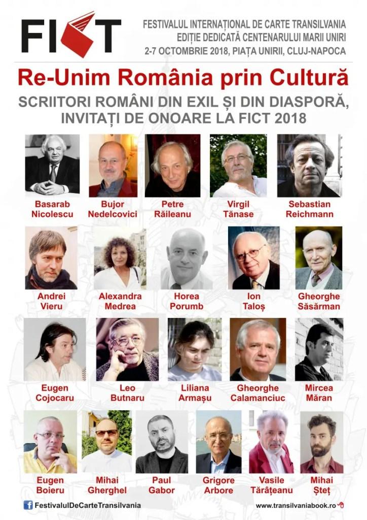 invitati Festivalul Internațional de Carte Transilvania