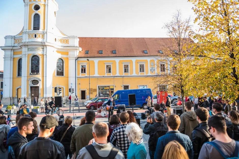 Jazz in the Street   Trupa Grimus va concerta pe Bulevardul Eroilor
