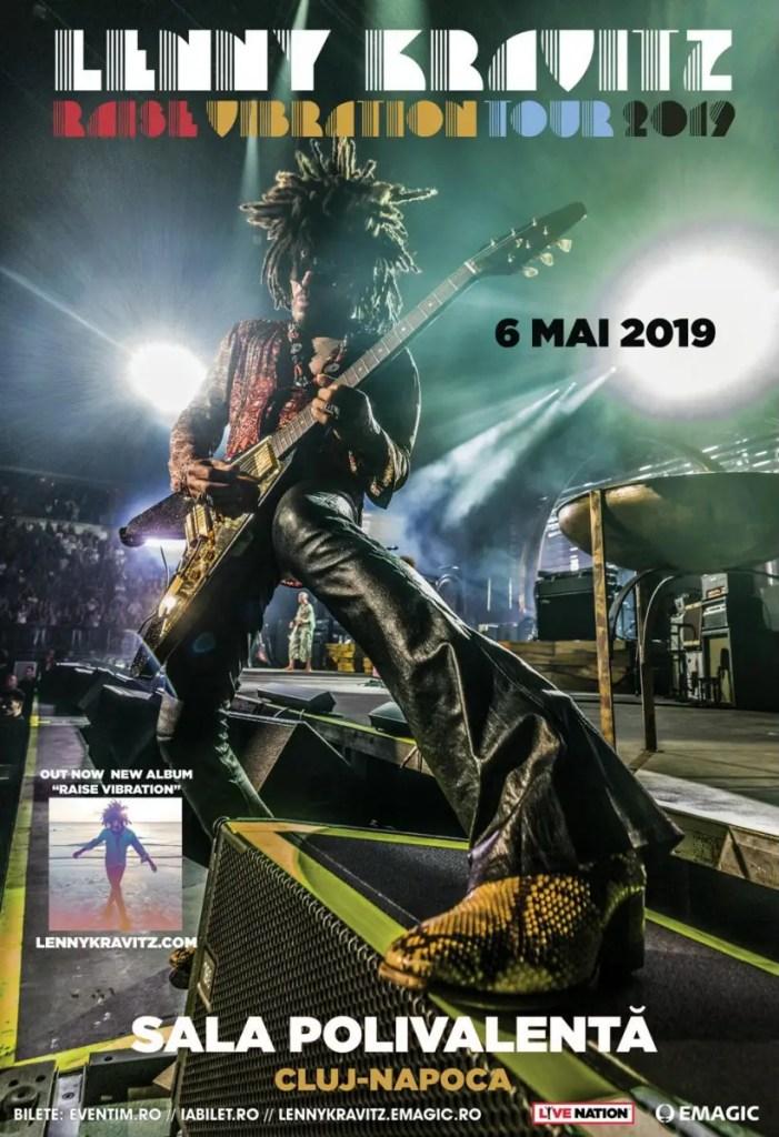 Au fost puse în vânzare biletele pentru concertul Lenny Kravitz de la Cluj