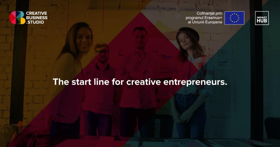Creative Business Studio | Program de accelerare pentru industriile creative organizat în Cluj și București