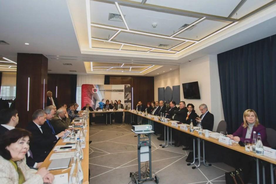 Alianța Română a Universităților Tehnice s-a reunit în ședință de lucru la Cluj