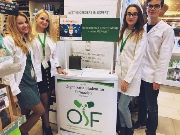 Organizaţia Studenţilor Farmacişti din Cluj-Napoca a demarat Campania Antibioticum