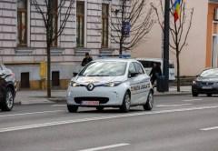 Cluj - primul oraş din România unde Poliţia Locală are maşini electrice