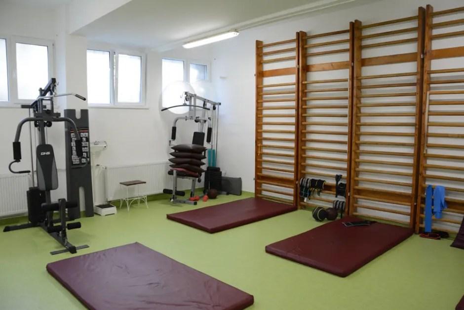 Ample lucrări de modernizare în cadrul laboratului de recuperare medicală de la Spitalul de Boli Infecțioase din Cluj