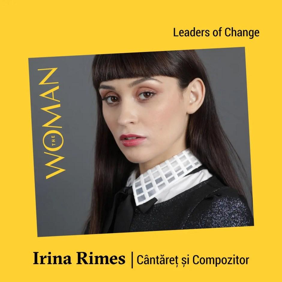 Irina Rimes și Dite Dinesz, următorii speakeri confirmați la The Woman 2019
