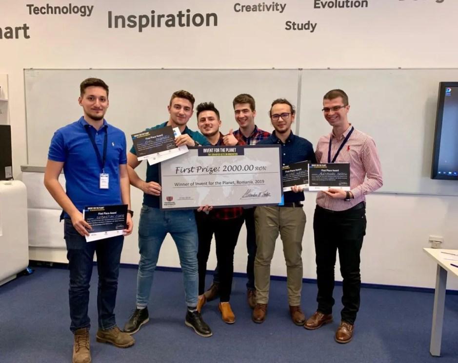 """Competiția """"Invent For The Planet"""" de la Universitatea Tehnică din Cluj şi-a desemnat câştigătorii"""