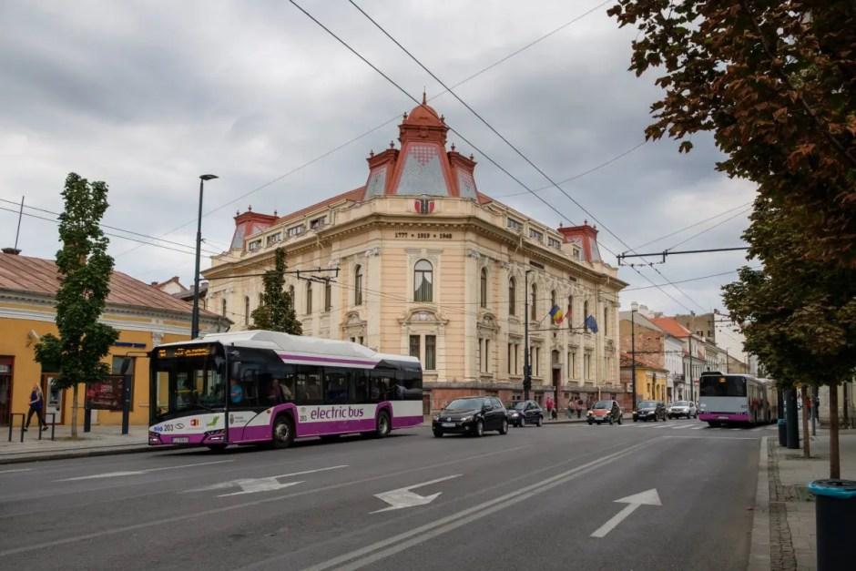 Transportul viitorului la Cluj: autobuze fără şofer pe străzile din oraş