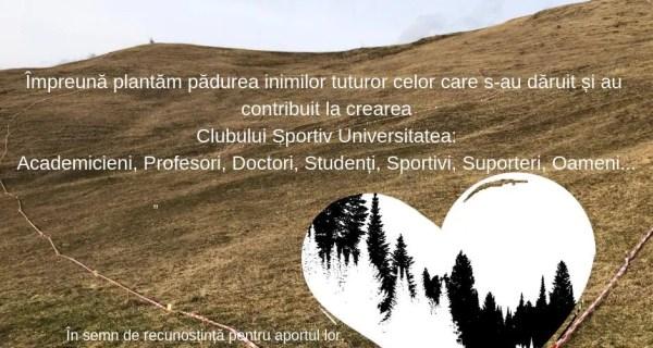 """Acţiune de împădurire la Cluj: """"Pădurea 'U'nor inimi româneşti"""""""