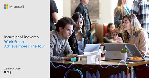 Microsoft vine la Cluj cu un seminar gratuit pe tema transformării digitale